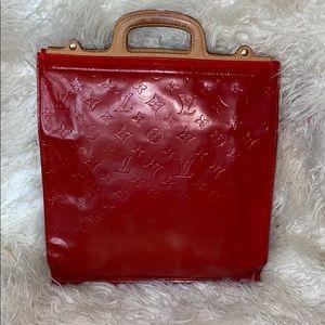 Louis Vuitton vernis steamer sac